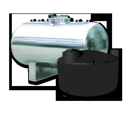 non-bladder water storage tanks